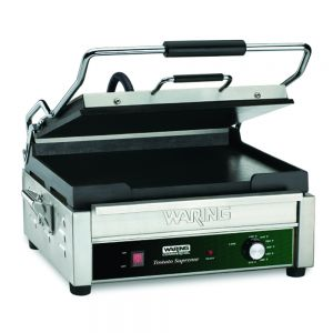 Tostato Supremo Full Size Flat Toasting Grill with Timer - 120v