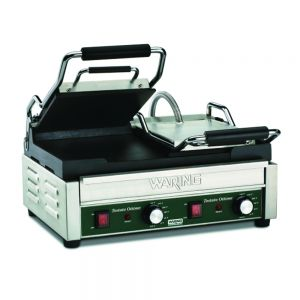 Tostato Ottimo Dual Flat Toasting Grill with Timer - 240v