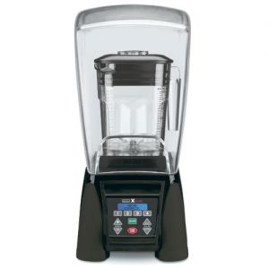 Heavy Duty Blender, 48 Oz. Poly Container, Electronic Keypad, Programmable with Sound Enclosure