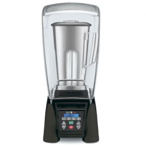 Heavy Duty Blender, 64 Oz. S/S Container, Electronic Keypad, Programmable with Sound Enclosure