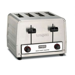 Commercial Toaster, Heavy Duty Pop-Up, 4 Slice, 240v