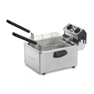Professional 8.5 Lbs Deep Fryer with Dual Frying Baskets, 120 Volts
