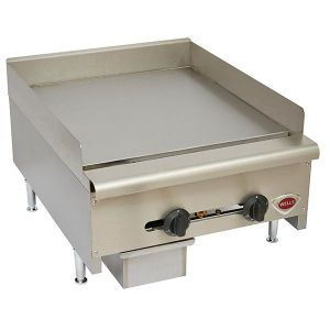 "Wells HDTG-2430G 24"" Countertop Griddle - Natural Gas"