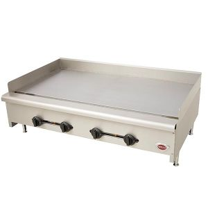 "Wells HDTG-4830G 48"" Countertop Griddle - Natural Gas"