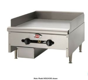 Heavy Duty 60″ Countertop Griddle - Natural Gas (Field Convertible to LP)