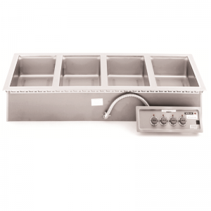 Wells MOD400TDM Top Mount Four-Well Food Pan