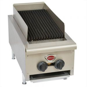 "Wells HDCB-1230G Heavy Duty 14"" Radiant Charbroiler - Natural Gas (Field Convertible to LP)"
