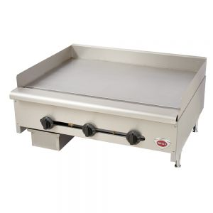 "Wells HDG-3630G Heavy Duty 36"" Countertop Griddle - Natural Gas (Field Convertible to LP)"