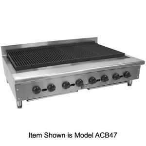 Achiever Charbroiler, 72 Inch, Gas