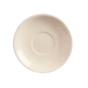 "6"" Princess White Rolled Edge Saucer (Case of 36)"