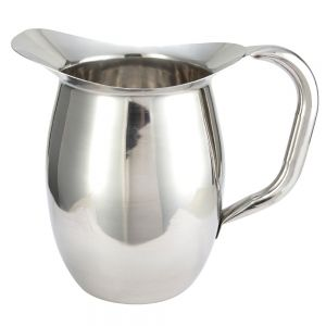 Winco WPB-2 2 Quart Bell Pitcher