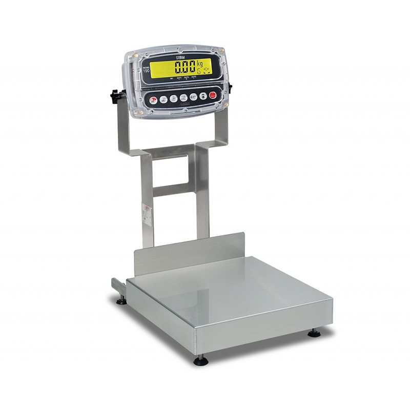 Detecto Admiral Bench Scale with 12 x 12 Platform - 60 kg Capacity
