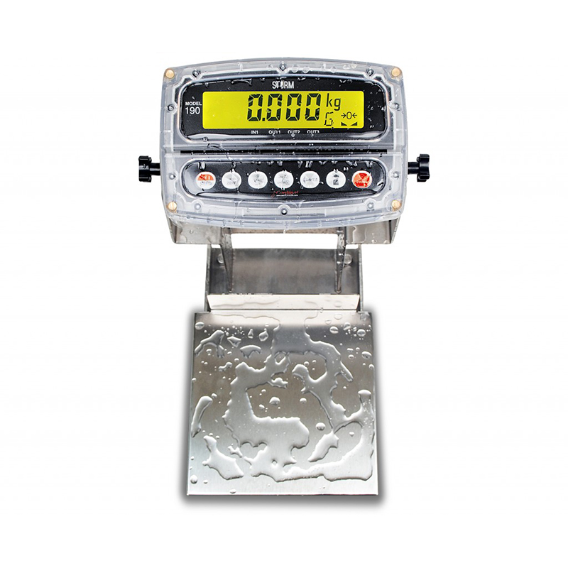 Detecto Admiral Bench Scale with 8 x 8 Platform - 30 lb. Capacity