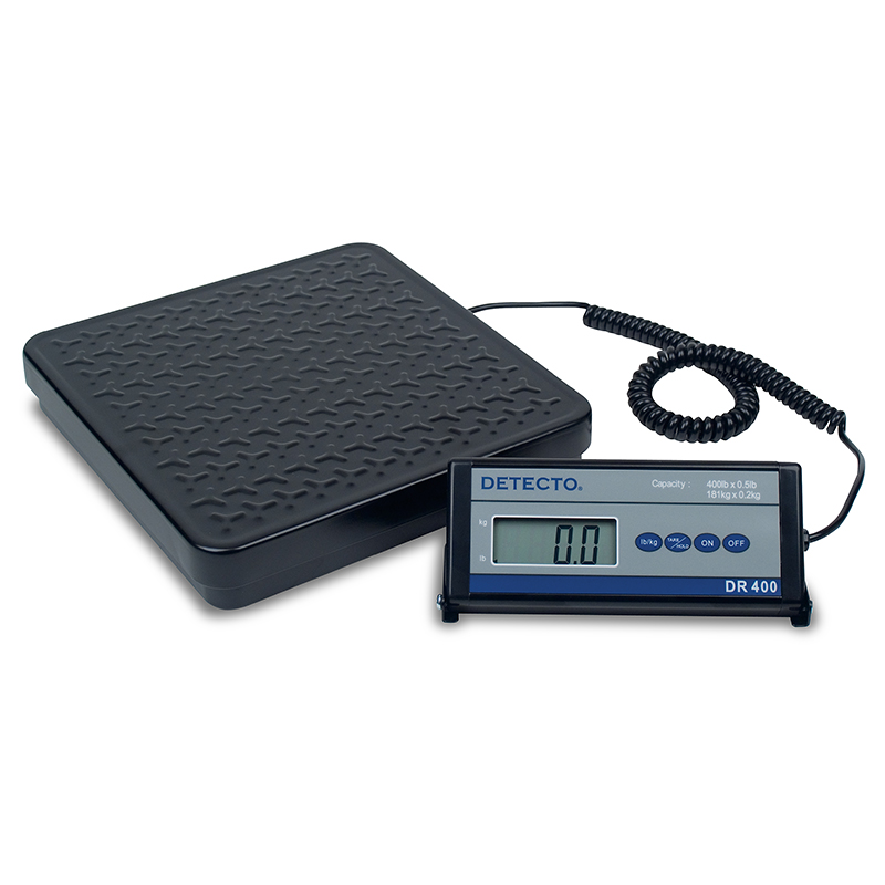 Detecto Electronic Shipping / Receiving Scale, digital, 150 lb. Capacity