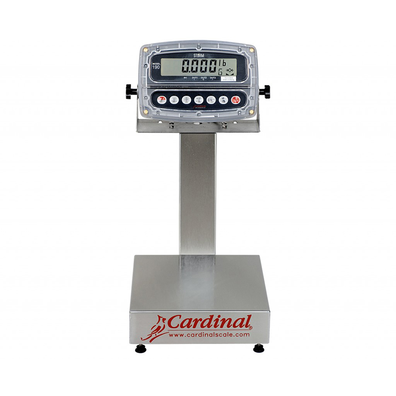 Detecto Digital Bench Style Scale with 190 Indicator - 15 lb. Capacity