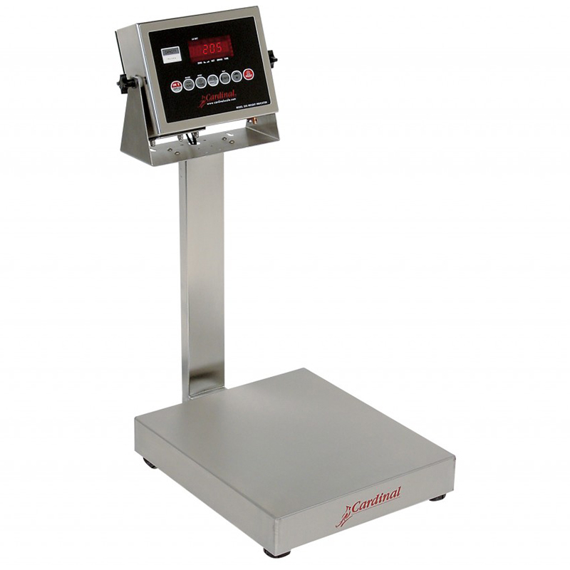 Detecto Digital Bench Style Scale with 205 Indicator - 15 lb. Capacity