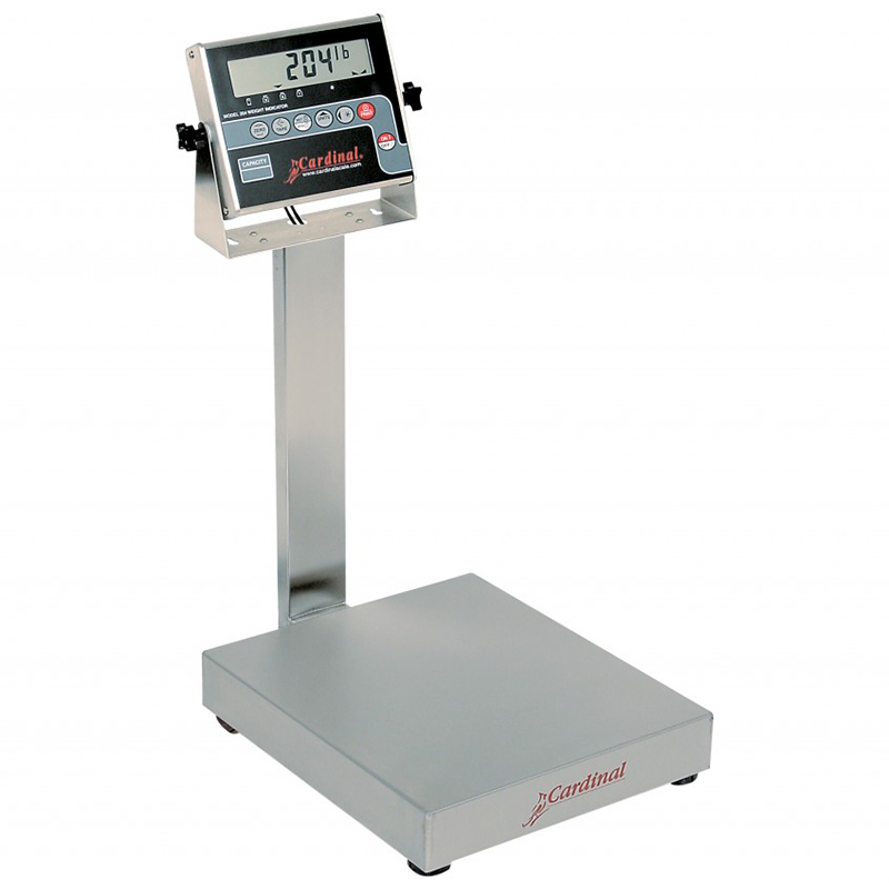 Detecto Digital Bench Style Scale with 204 Indicator - 300 lb. Capacity
