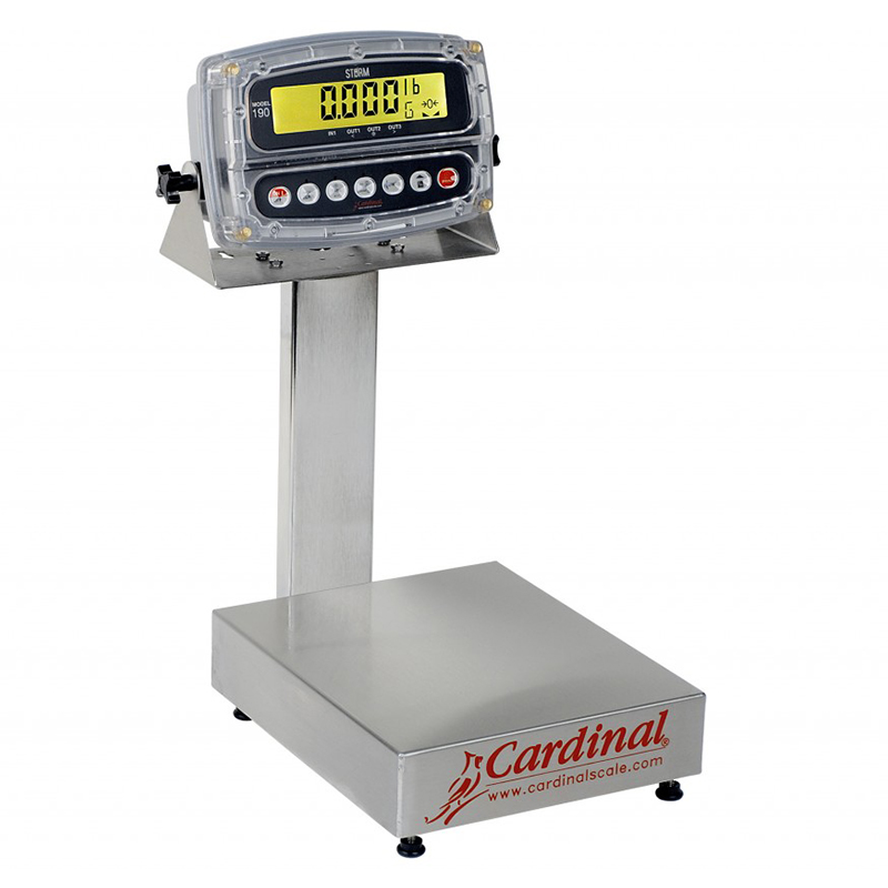 Detecto Digital Bench Style Scale with 190 Indicator - 60 lb. Capacity