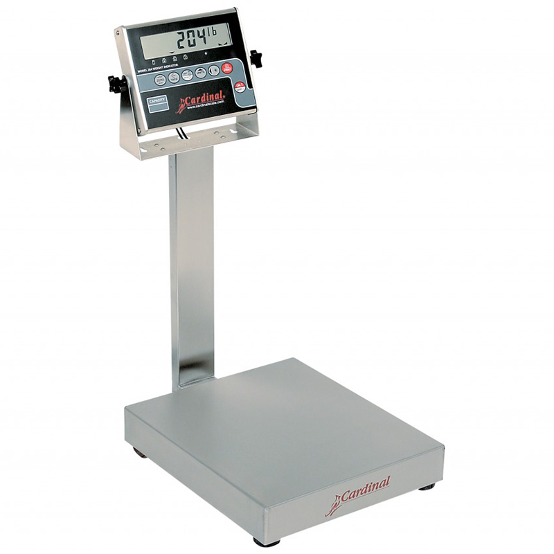 Detecto Digital Bench Style Scale with 204 Indicator - 60 lb. Capacity