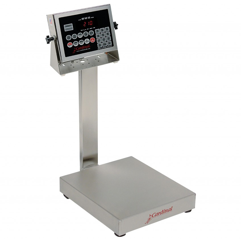 Detecto Digital Bench Style Scale with 210 Indicator - 60 lb. Capacity