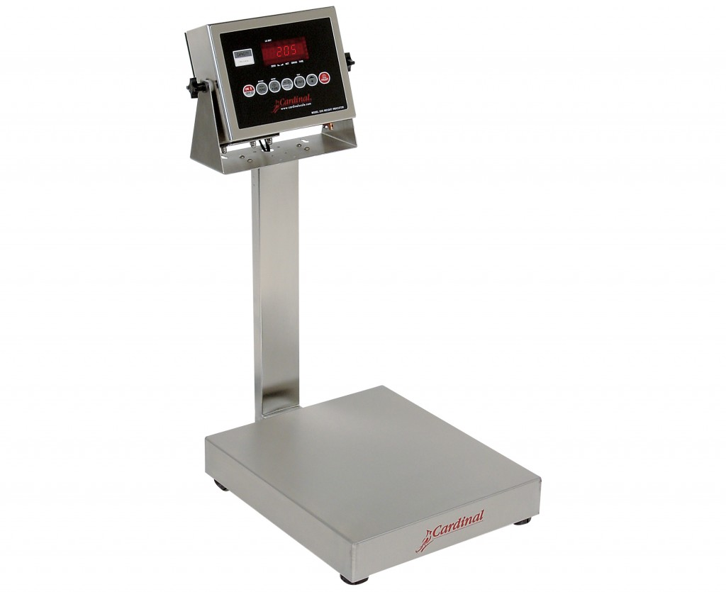 Detecto Digital Bench Style Scale with 205 Indicator - 60 lb. Capacity