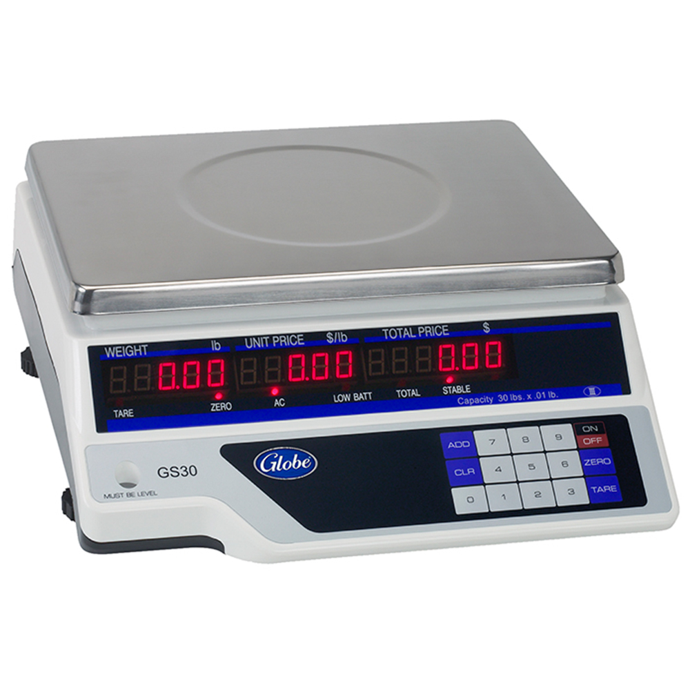 Globe Price Computing Scale, Legal for Trade - 30 Lb