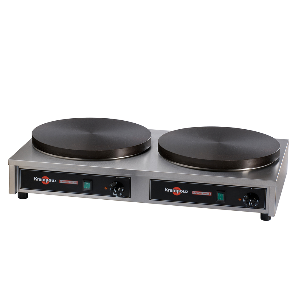 Click here for Krampouz Double 15 3/4 Round Electric Cast Iron Cr... prices