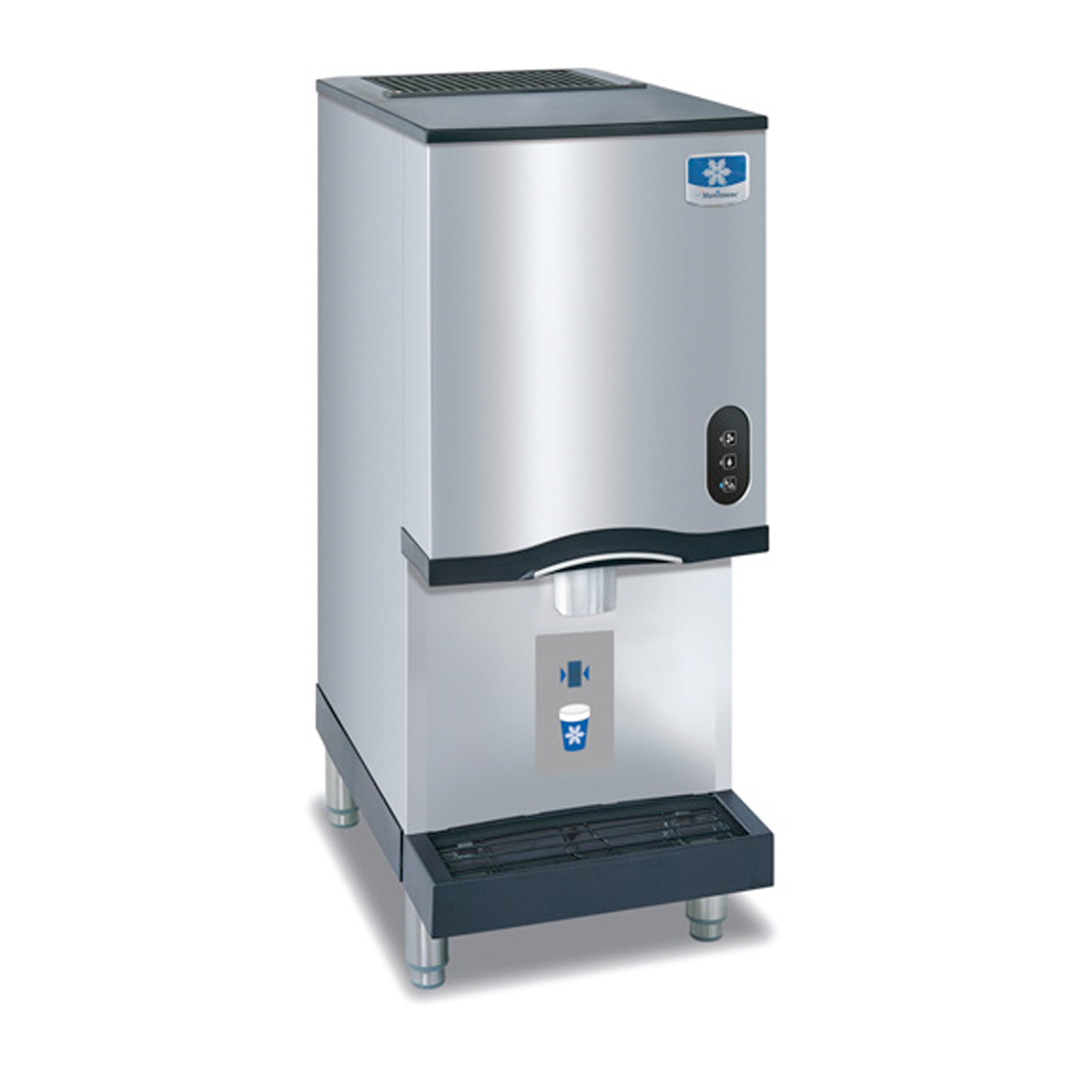 Countertop Nugget Ice Maker Machine : Manitowoc Ice Nugget Style Countertop 261 lb Ice Maker and Water ...