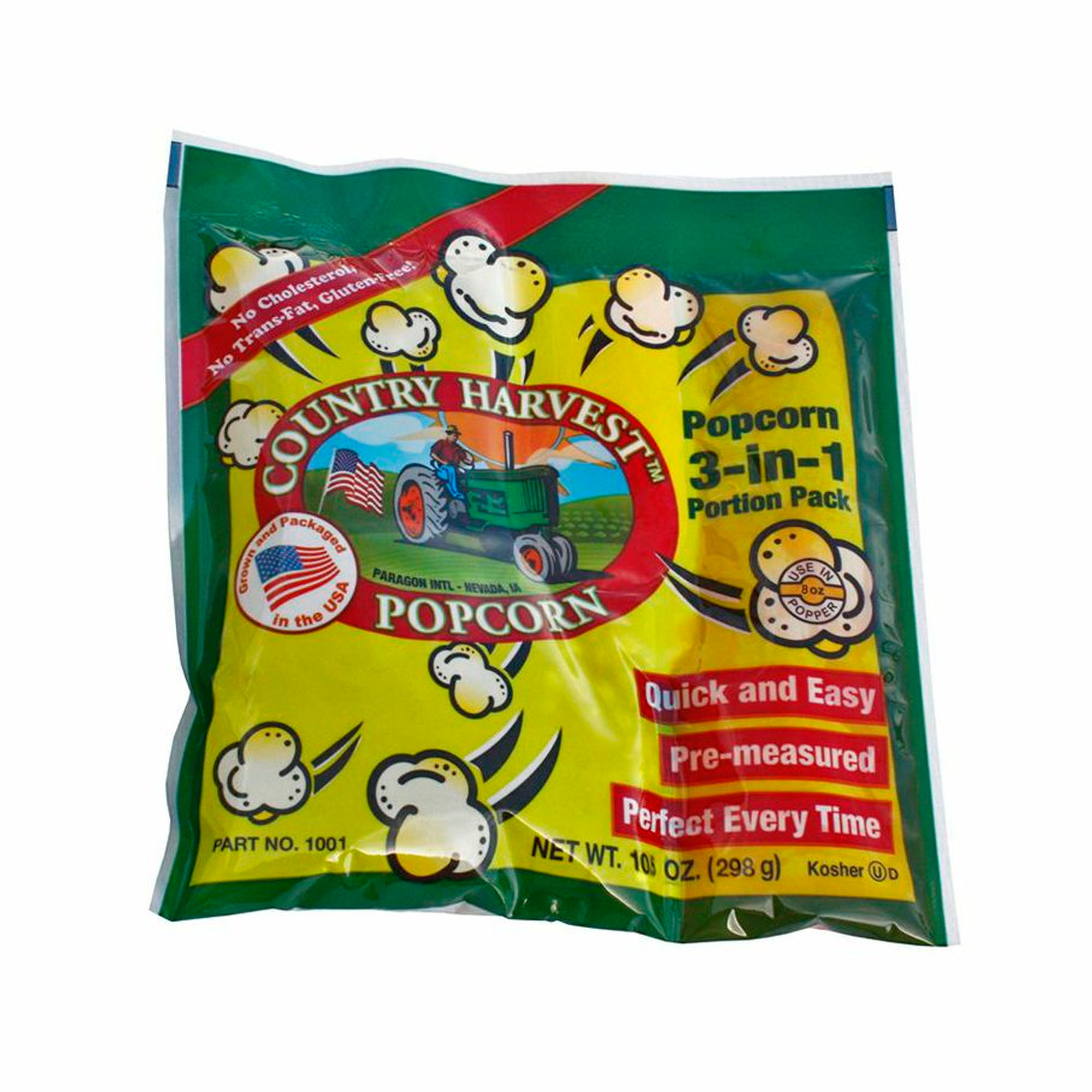 Paragon Country Harvest 8 oz. Tri-Pack Portion