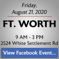 Free Knife Sharpening at the Ft. Worth store! Join us.