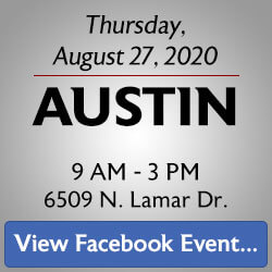 Free Knife Sharpening at the Austin store! Join us.