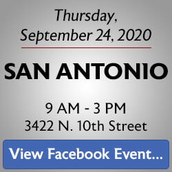 Free Knife Sharpening at the San Antonio store! Join us.