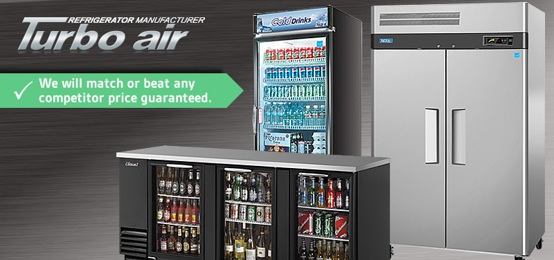 Turbo Air Refrigeration. MissionRS.com has the best prices online. We will match or beat any competitor price guaranteed.
