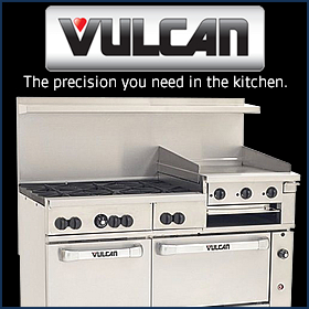 Versatile and dependable, Vulcan equipment is built to work hard in operations of all sizes. Shop Vulcan at MissionRS.com.